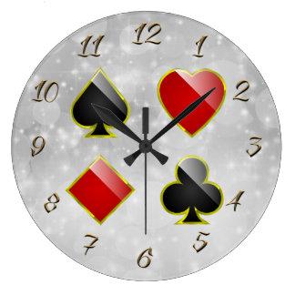 Gambling hall large clock
