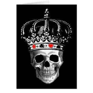 Gambling King Greeting Card