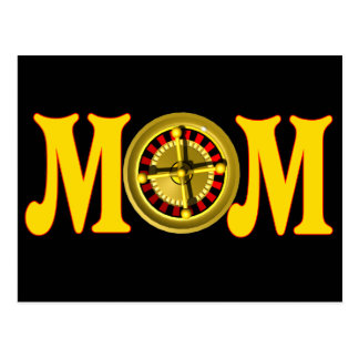 Gambling T-shirts and Gifts For Mom Postcard