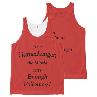 GAME CHANGER All-Over-Print TANK TOP