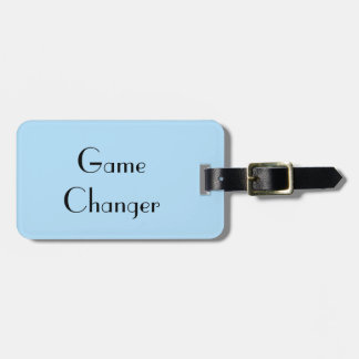 Game Changer Luggage Tag