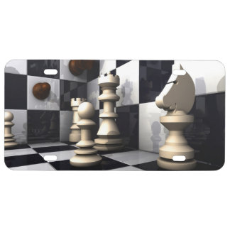Game Chess Hobby License Plate
