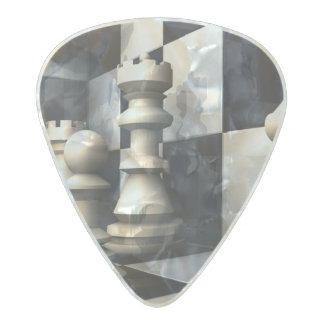 Game Chess Hobby Pearl Celluloid Guitar Pick