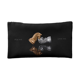 Game Chess Play Cosmetic Bags
