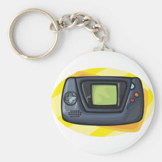 Game Console Keychain