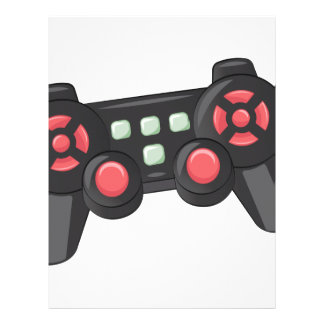 Game Controller Customized Letterhead