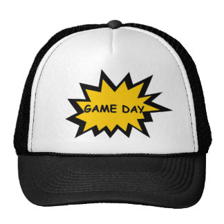 Game Day 4/ Explosion Trucker Hat