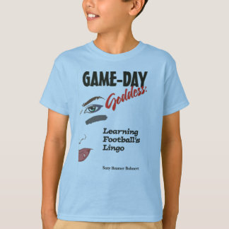 Game-Day Goddess Football Shirt for Youths