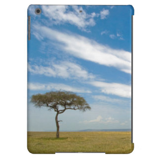 Game drive vehicle on open African plains Case For iPad Air