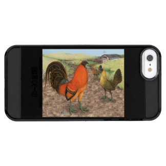 Game Fowl on the Farm Clear iPhone SE/5/5s Case