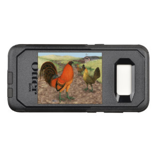 Game Fowl on the Farm OtterBox Commuter Samsung Galaxy S8 Case