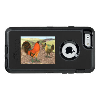 Game Fowl on the Farm OtterBox Defender iPhone Case