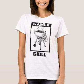 Game Grill T-Shirt - Gamer Fashion