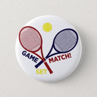 Game Match Set 2 Inch Round Button