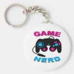 Game Nerd Key Chain