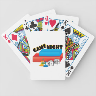 Game Night Bicycle Playing Cards