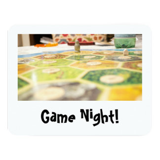 Game Night Invitations
