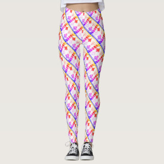 Game Night Rainbow Suits Leggings