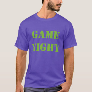 """Game Night"" t-shirt"