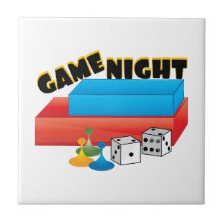 Game Night Ceramic Tile
