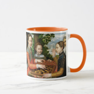 Game of Chess by Sofonisba Anguissola - Circa 1555 Mug