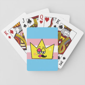 Game of I baralho Letters - Transgênero Transexual Playing Cards