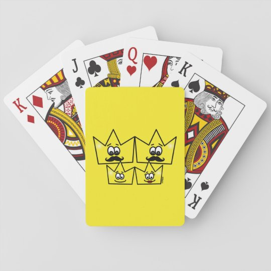Game of Letters I baralho - Gay Family Men Playing Cards