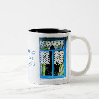 Game of life kit Two-Tone coffee mug