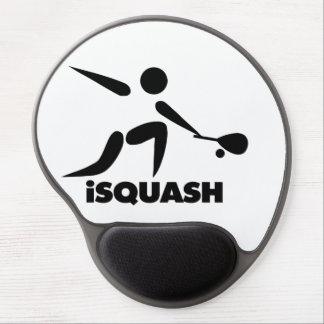 Game Of Squash iSquash Logo Gel Mouse Pad