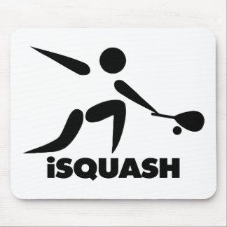 Game Of Squash iSquash Logo Mouse Pad