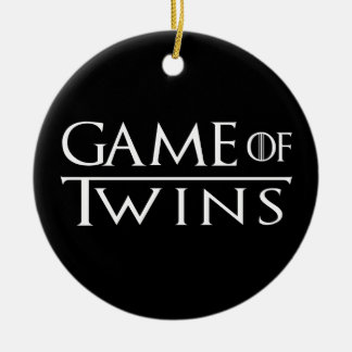 Game of Twins Ornament