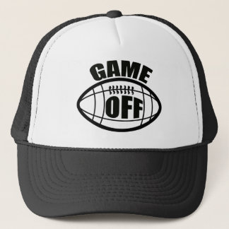 GAME OFF NFL PROTEST TRUCKER HAT