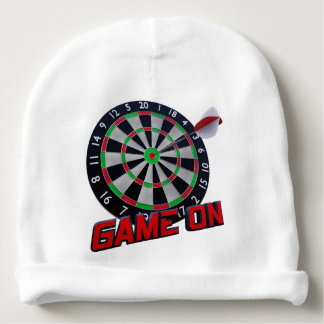 GAME ON BABY BEANIE