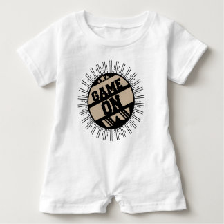 Game on baby romper
