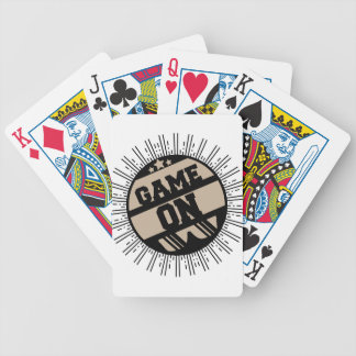 Game on bicycle playing cards