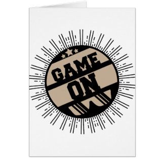 Game on card