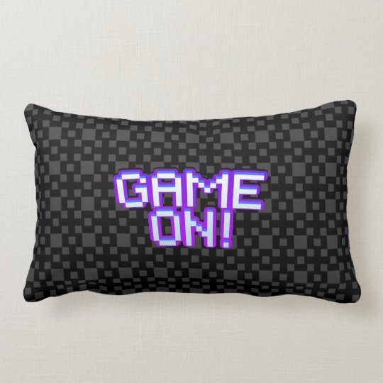 Game On! dark Throw Pillow