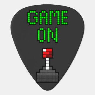 Game On Guitar Pick
