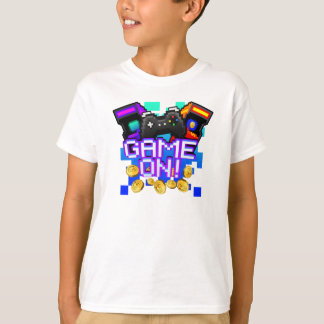 Game On! Kids white T-shirt
