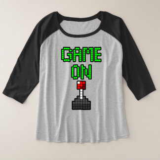 Game On Raglan Tee