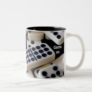 Game on Two-Tone coffee mug