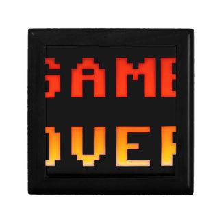 Game over 8bit retro gift box