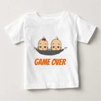 Game Over baby baby pregnancy Baby T-Shirt