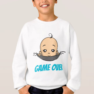 Game Over baby baby pregnancy Sweatshirt