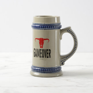 Game Over & Bull by VIMAGO Beer Stein