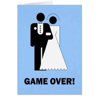 Game over card
