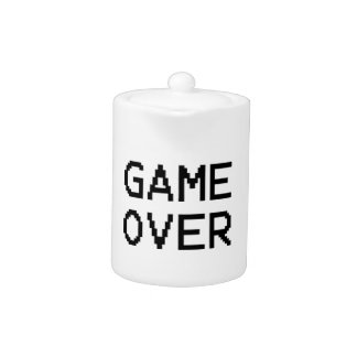 Game Over Classic Game Text