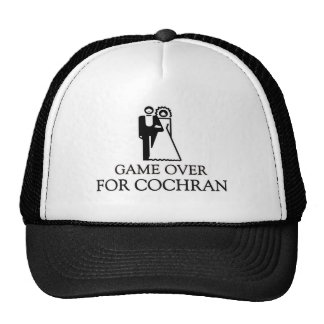Game Over For Cochran Hats
