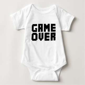 Game Over funny baby shirt