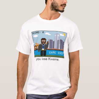 Game Over Kwame (One Sided) T-Shirt
